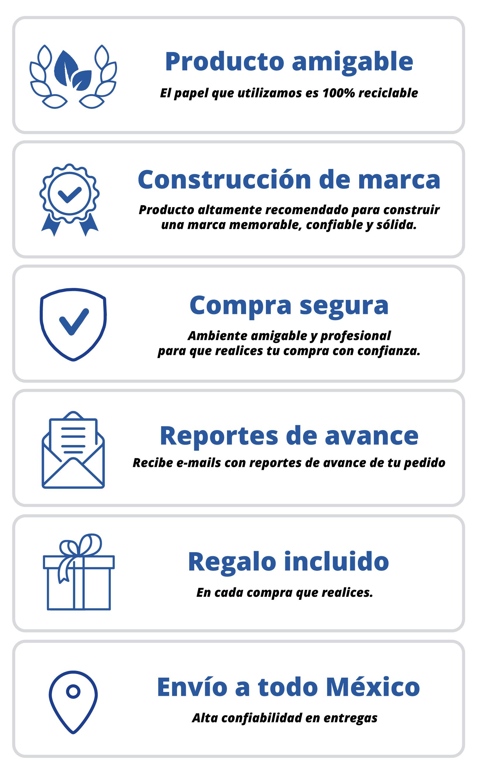 Folders corporativos, ventajas y beneficios impresshop.
